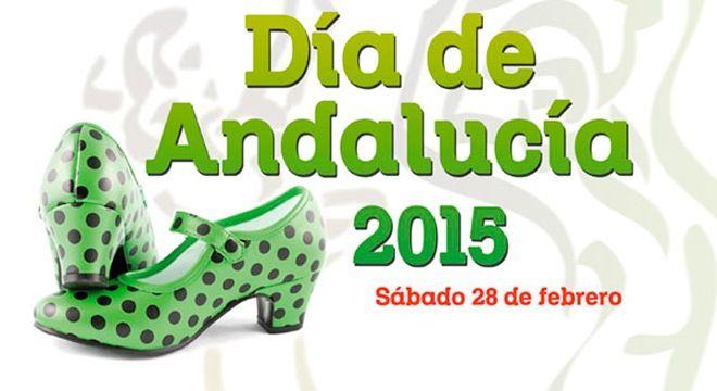 cartel del dia de andalucia 2015