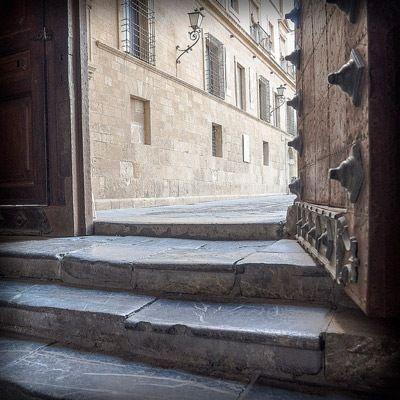 entrada de la catedral de Murcia