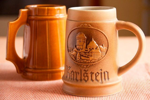 jarras de cerveza ceramica tipo alemanas