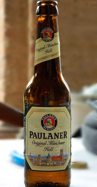 botellin cerveza paulaner
