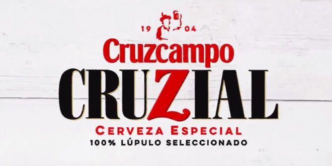 imagen con logotipo de cruzcampo cruzial, cerveza especial