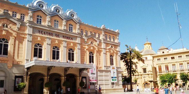 Fachada del teatro romea de murcia