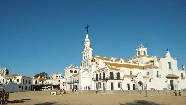 ermita de El Rocío en Almonte