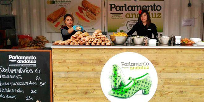 stand del parlamento andaluz en rin ran murcia