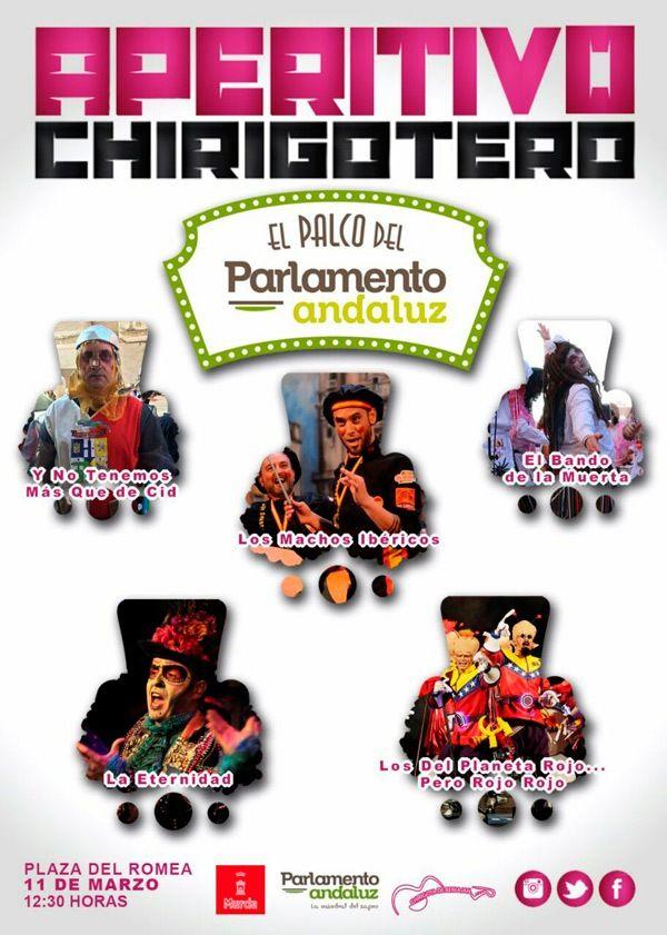 Cartel del V Certamen de Chirigotas Ciudad de Murcia