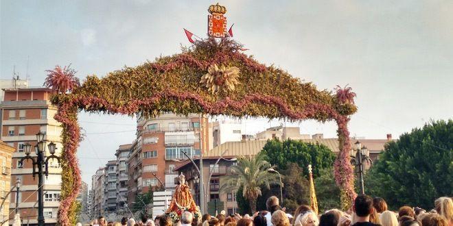 noria de la Feria de Murcia