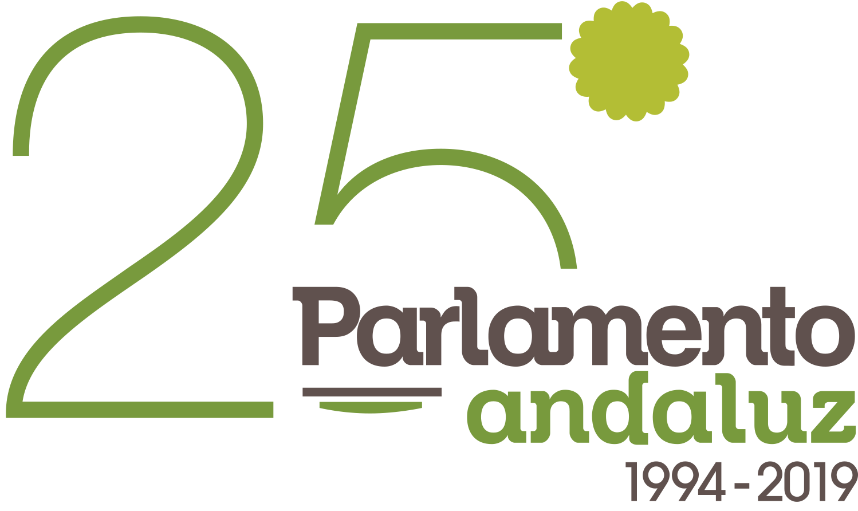 LOGO 25º PARLAMENTO ANDALUZ